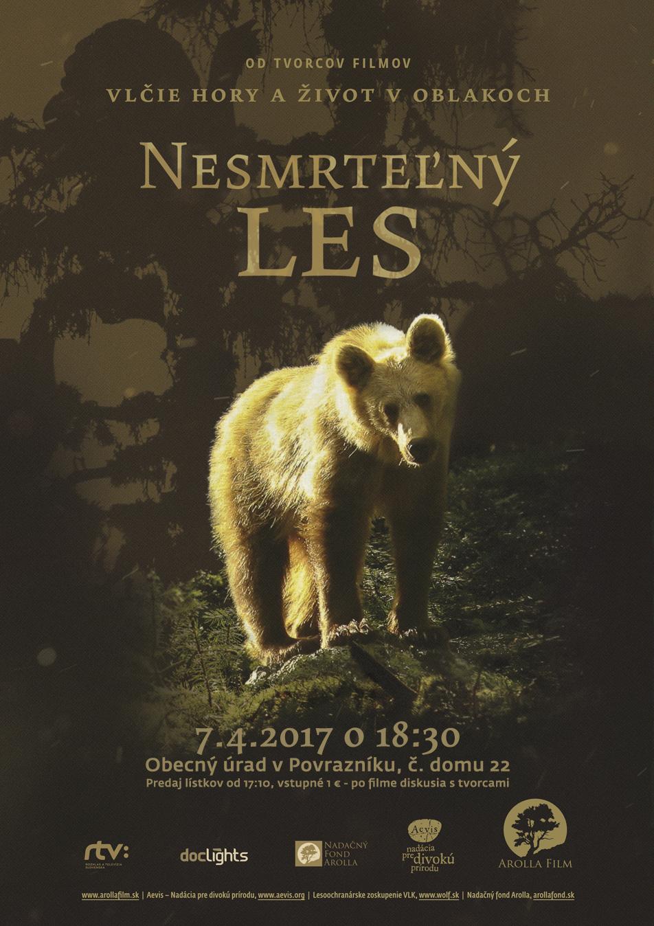Plagát k filmu Nesmrteľný les