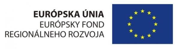 Logo EU Europsky fond regionalneho rozvoja